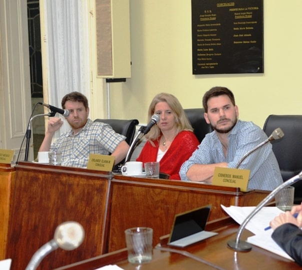 Manuel Cisneros, parte del Bloque Cambiemos de Concejales