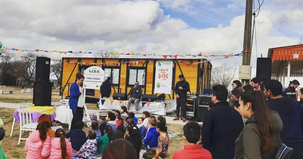 Cuentos, historias y mucha música en Saladillo Norte