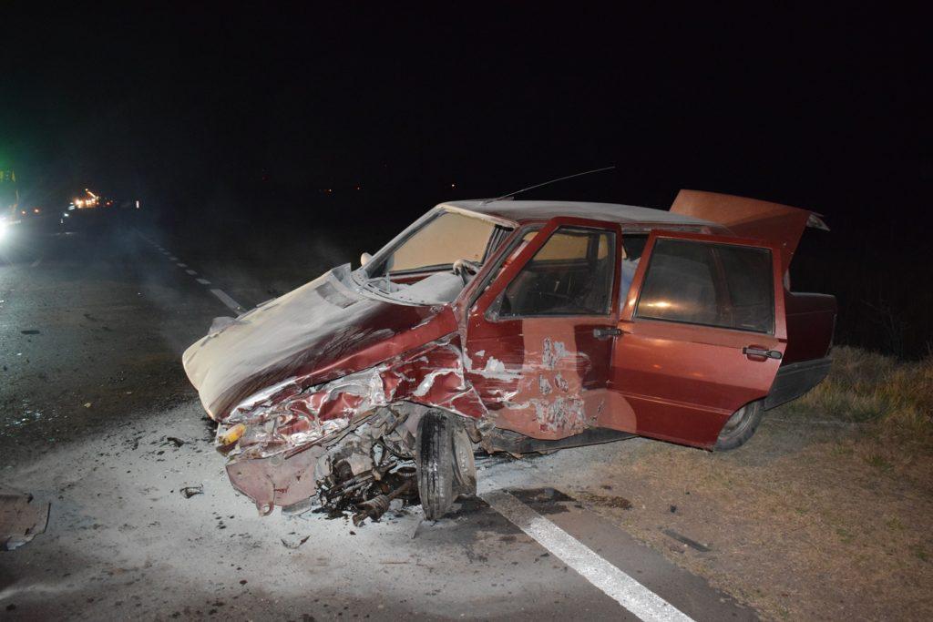 Impactante accidente en el acceso a la Gral. Alvear
