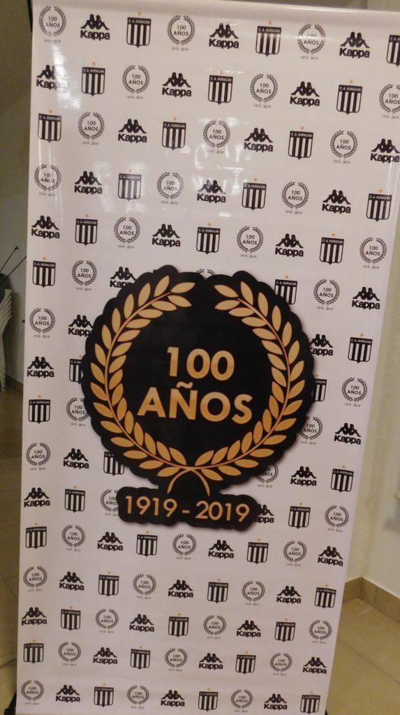 El club Huracán se prepara para el festejo de los 100 años