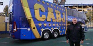 Micro Blindado de Boca Juniors