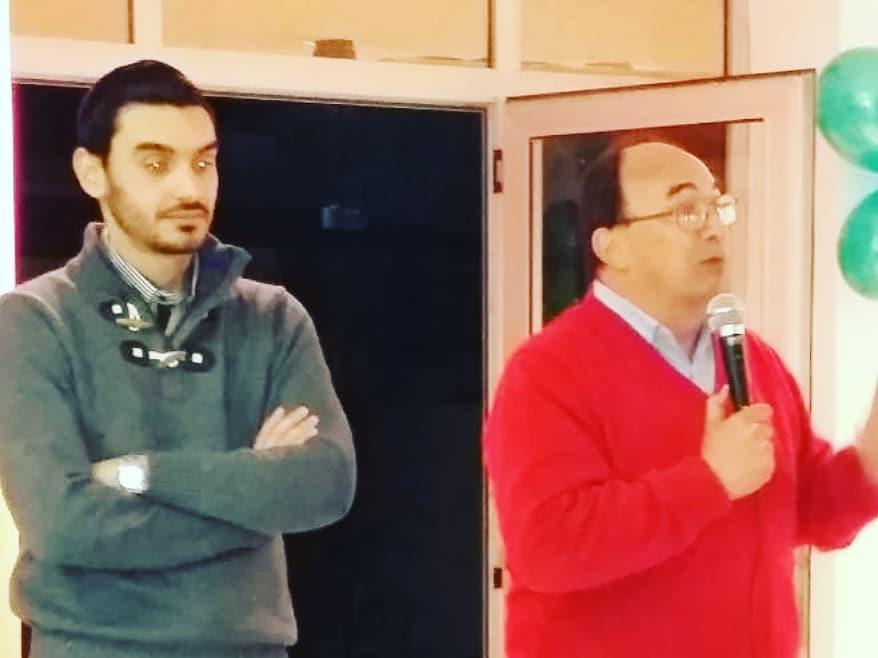 Jose Luis Salomón  participo de la 64° aniversario del CEUS en La Plata