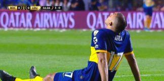Wanchope Ábila - Lesión Libertadores