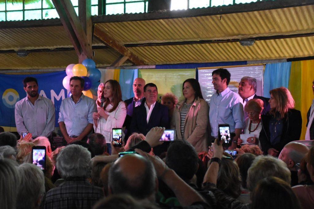 Lordén acompañó a Vidal en Azul y Olavarría
