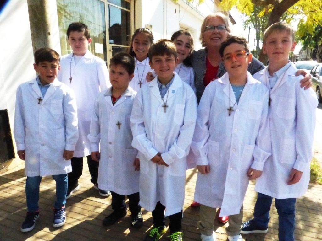 Otro domingo de Fe para muchos niños saladillenses