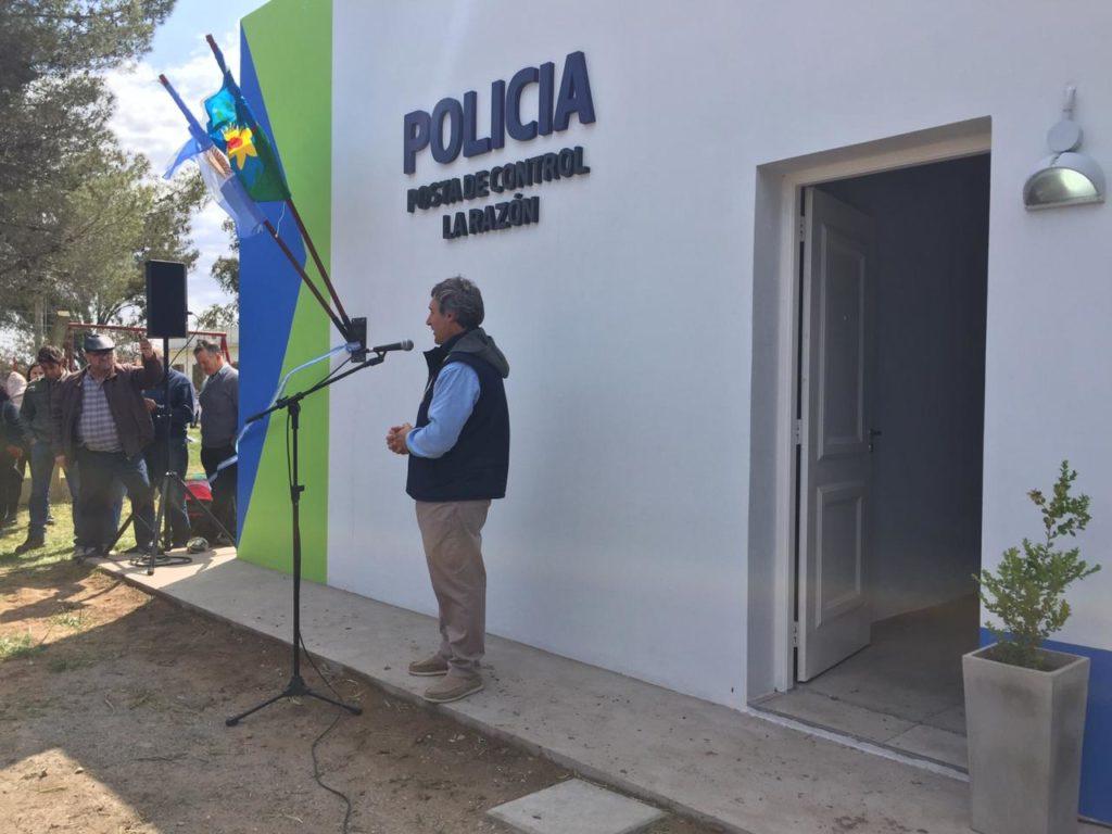 Inauguraron la Posta de Control Policial del paraje La Razón