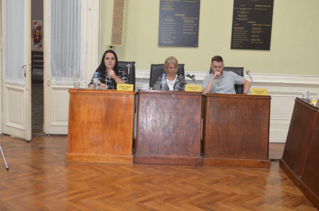 En la 16° sesión del HCD, avanzó la solicitud de extensión de la red de gas en el Barrio Los Troncos