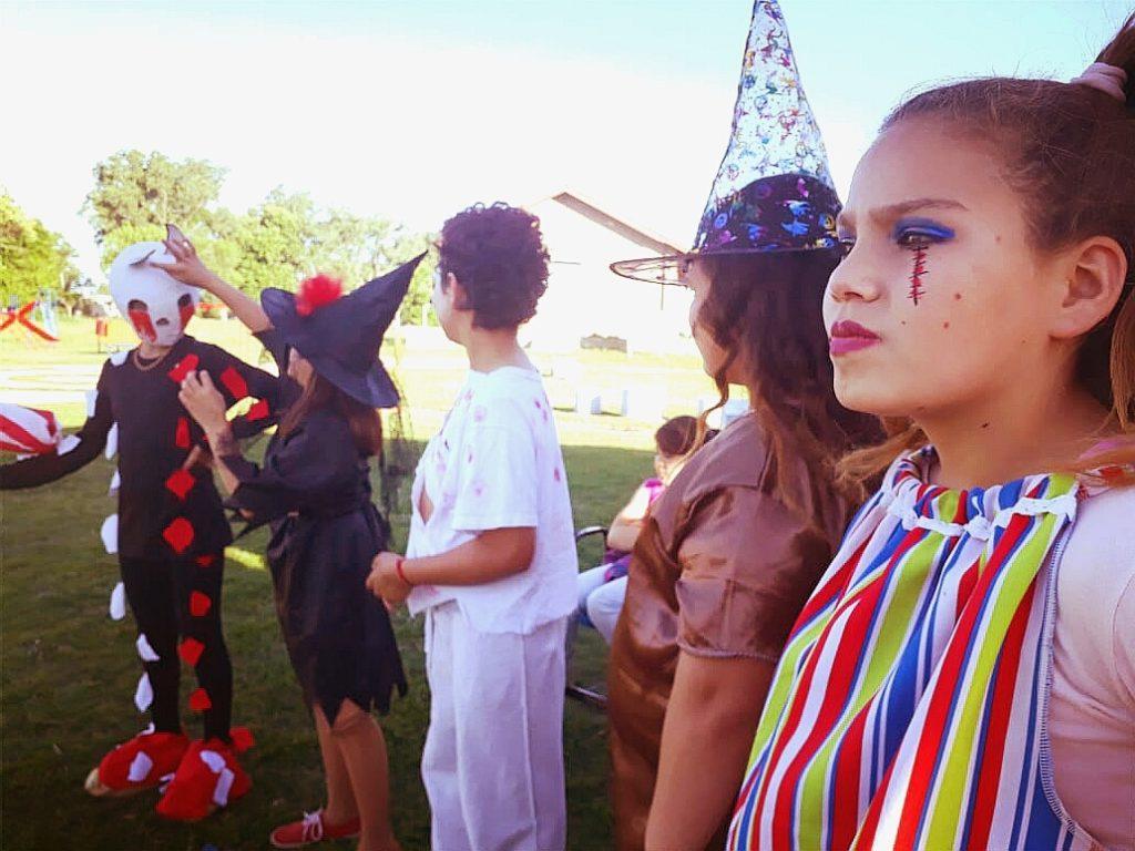 Envión Sede Saladillo Norte y su festejo de Halloween