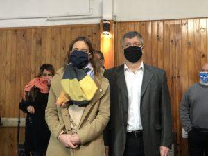 La Ministra de Trabajo Ruiz Malek se reunió en Saladillo con el nuevo delegado, Lacunza, y diferentes gremios de trabajadores