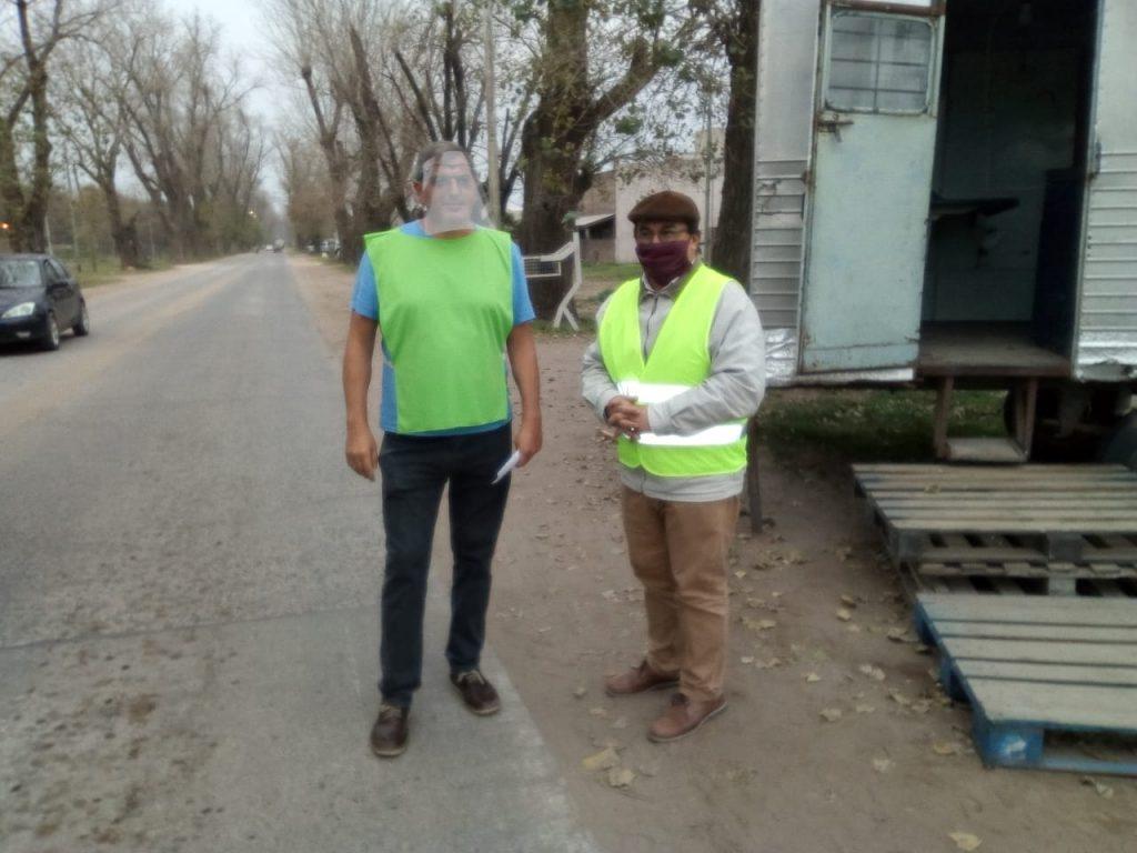 Salomón realizó un recorrido de los principales lugares de control de acceso a nuestra