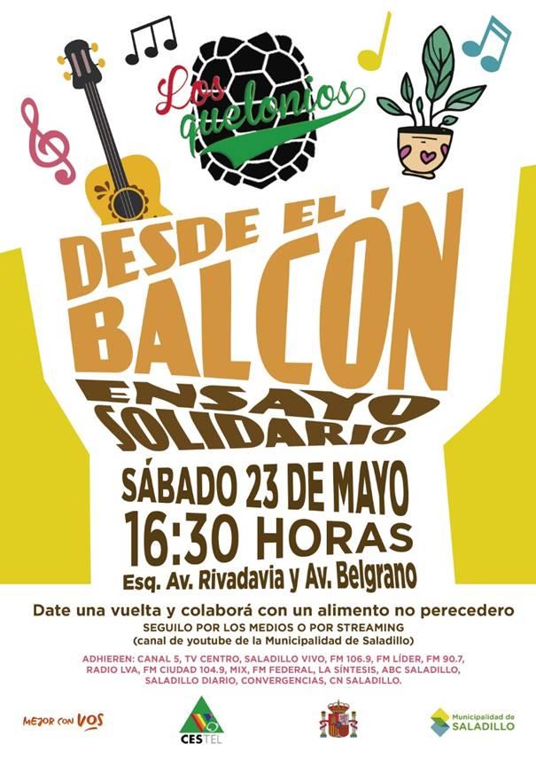 Los Quelonios estarán este sábado en Belgrano y Rivadavia