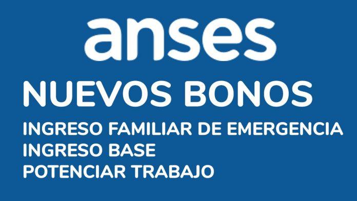 Nuevos bonos Anses