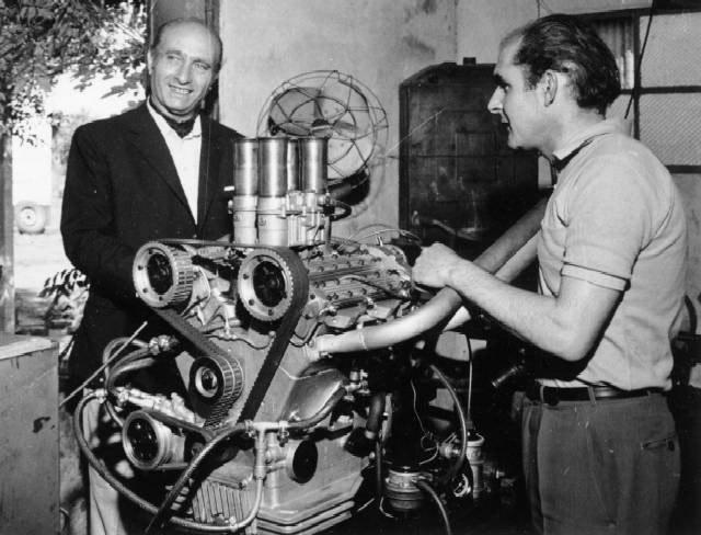 Cicaré y Fangio