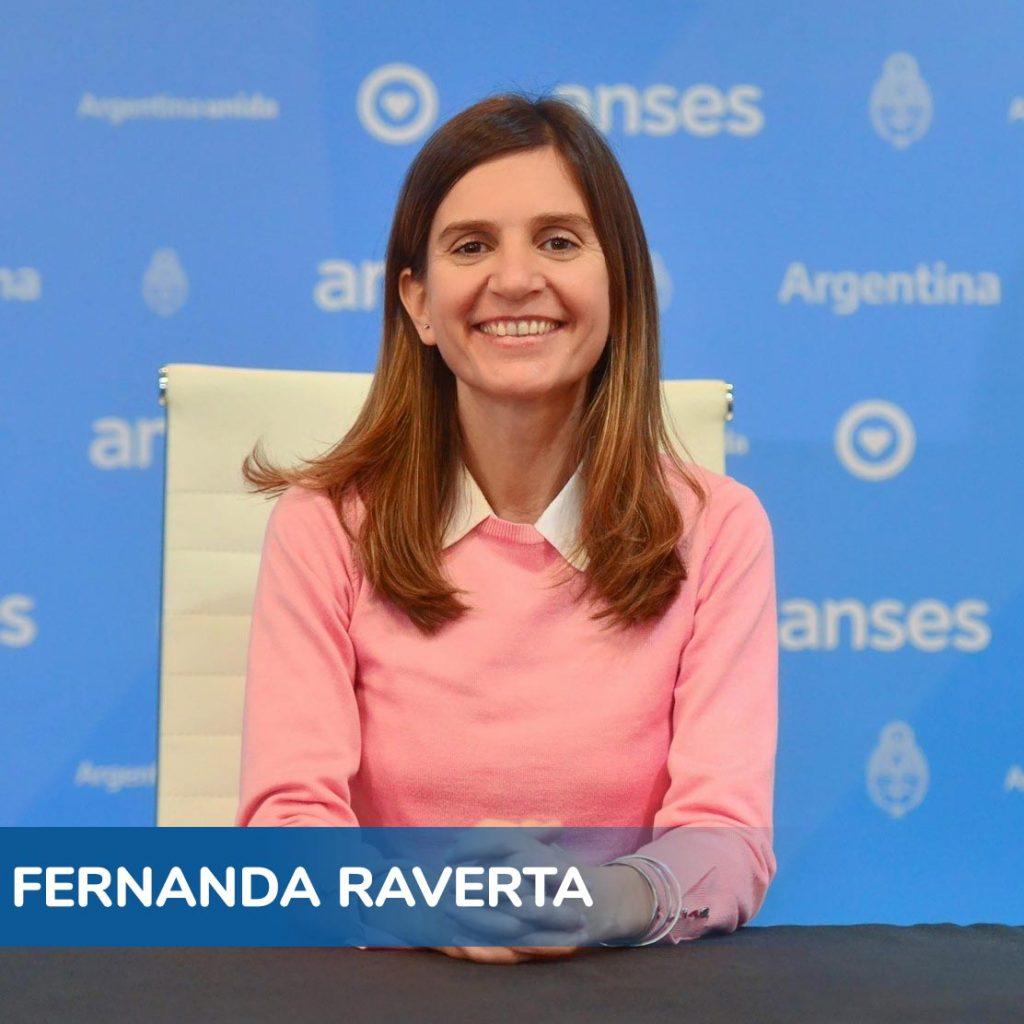 Fernanda Raverta - Directora Anses