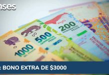 IFE ANSES - Bono extra de $3000 pesos