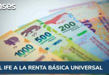 Del IFE a la Renta Básica Universal