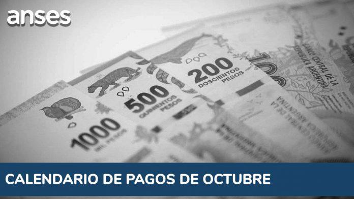 ANSES en octubre: el calendario completo de pago