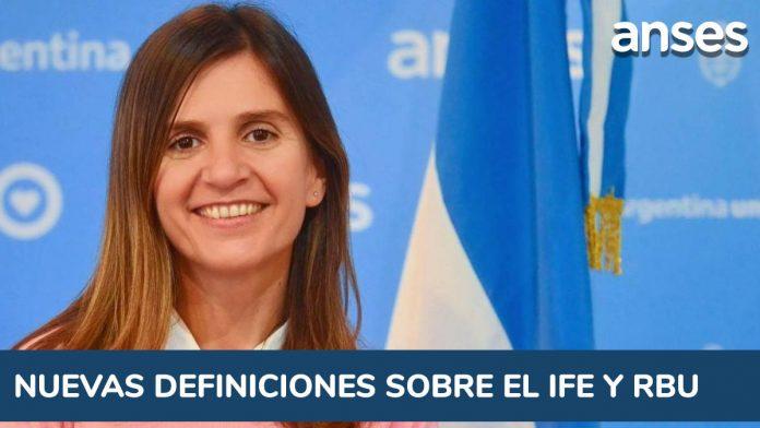 ANSES - Fernanda Raverta y nuevas definiciones sobre el IFE y la Renta Básica Universal