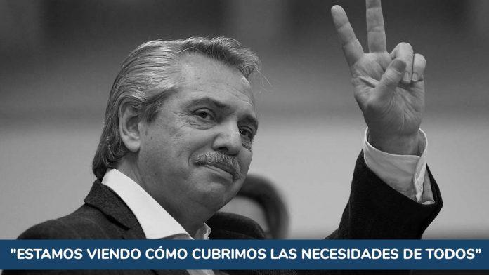 Alberto Fernández y el IFE 4: