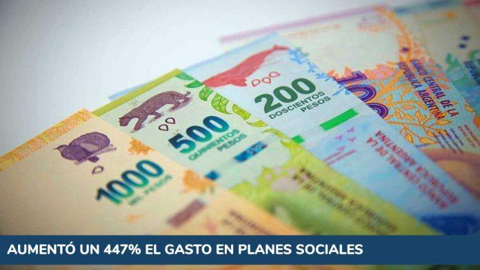 Presupuesto: cómo hizo el Estado para aumentar un 447% el gasto en planes sociales