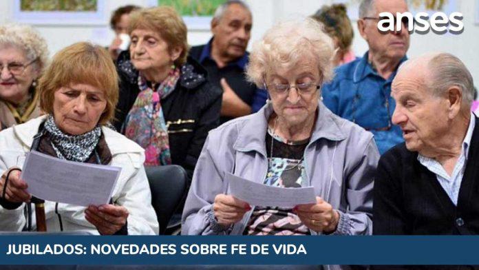 Suspensión Fe de Vida Jubilados