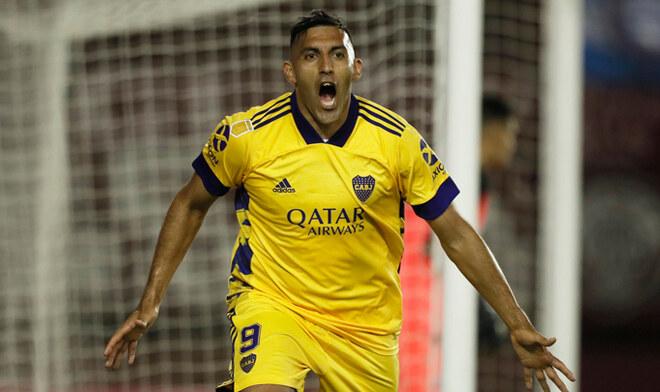 "Boca le ganó a Lanús con un gol de ""Wanchope"" Ábila"