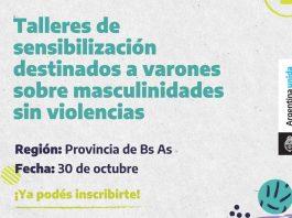 TALLER DE MASCULINIDADES SIN VIOLENCIAS