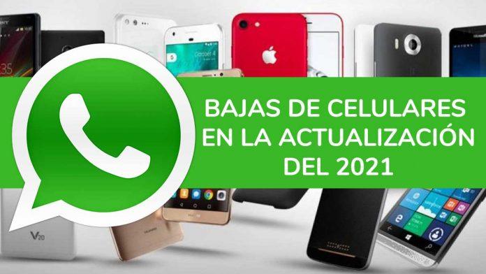 WhatsApp: en qué celulares dejará de funcionar desde 2021