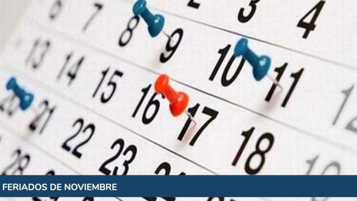 Cuál es el próximo feriado de noviembre y cuántos quedan hasta fin de año