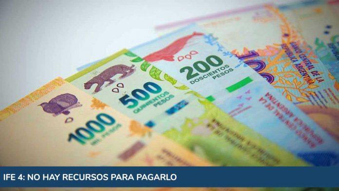 IFE 4: aseguran que no hay recursos para el pago de otro bono de $10 mil