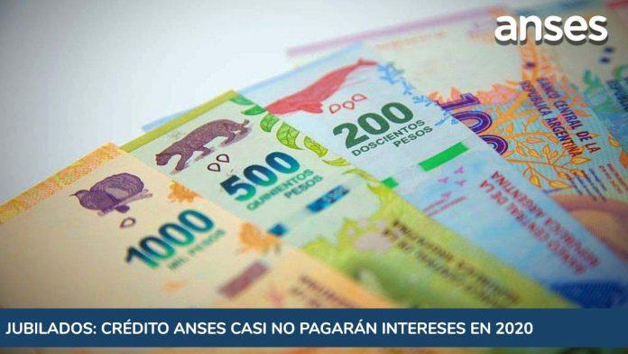 Jubilados: quienes tomaron un crédito Anses casi no pagarán intereses en 2020