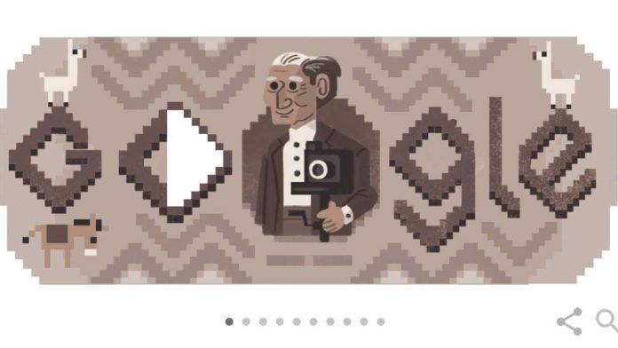 Martín Chambi en Doodle de Google