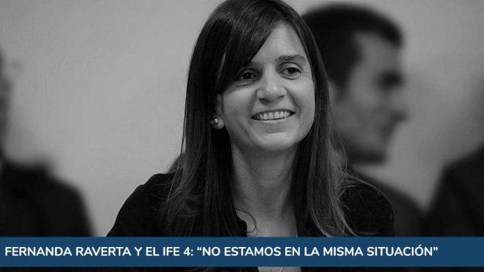 """Raverta y el IFE 4: """"No estamos en la misma situación"""""""