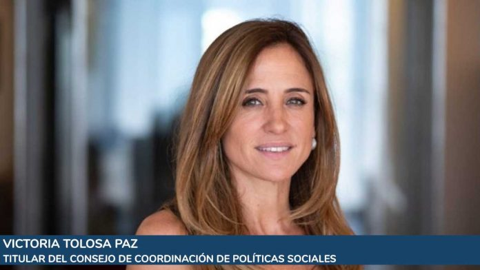 titular del Consejo de Coordinación de Políticas Sociales, Victoria Tolosa Paz