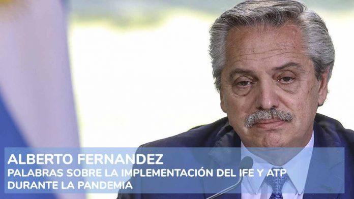 Alberto Fernandez - IFE y ATP