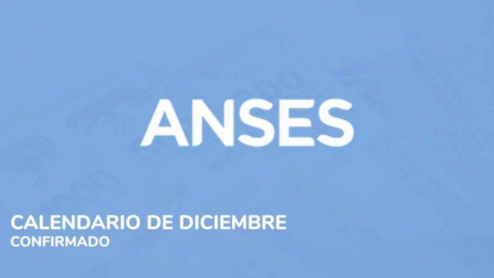 ANSES Calendario Diciembre