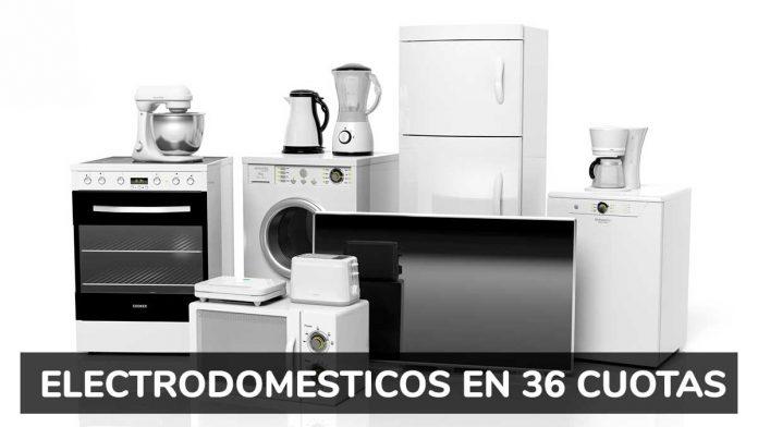 Electrodomésticos en cuotas