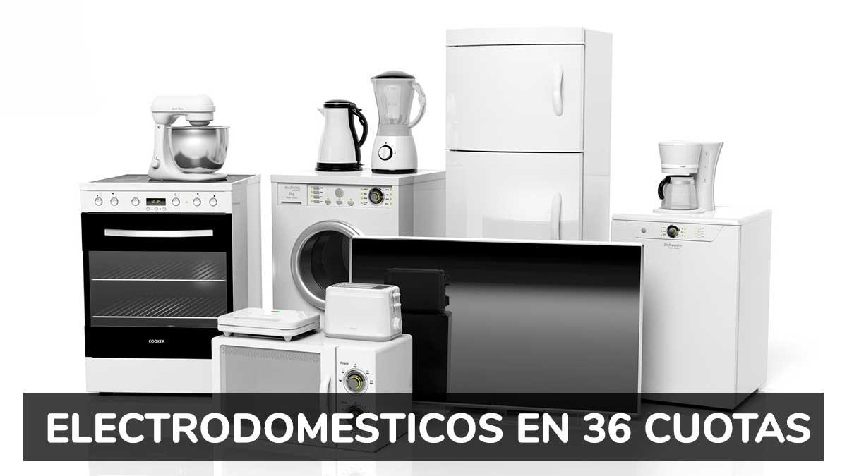 Créditos para electrodomésticos: cómo comprar en hasta 36 cuotas