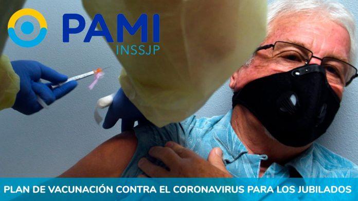 Pami Plan de Vacunación coronavirus