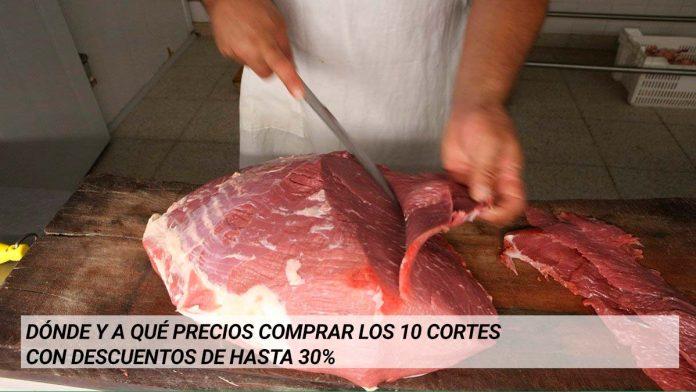 Descuentos en cortes de Carne