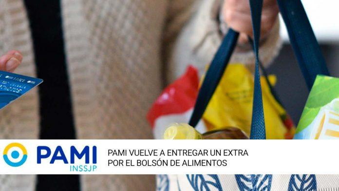 PAMI vuelve a entregar un extra por el bolsón de alimentos