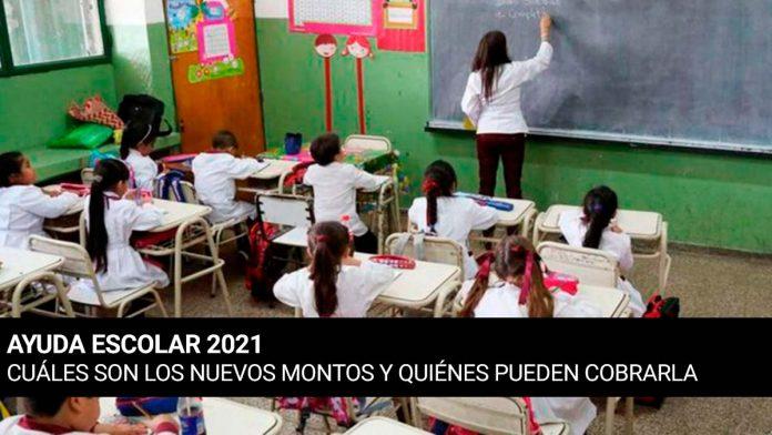 Ayuda Escolar Anses 2021
