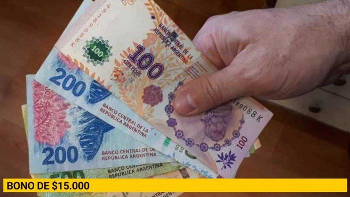 Bono de $15.000: quiénes y cómo podrán cobrarlo