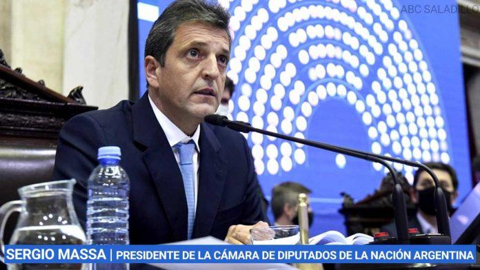 SERGIO MASSA | presidente de la Cámara de Diputados de la Nación Argentina