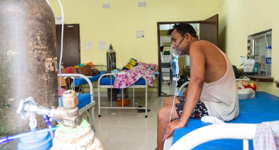 Hongo Negro ataca a pacientes de Covid en India